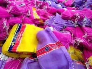 Monofilament Mesh Bags for Garlic