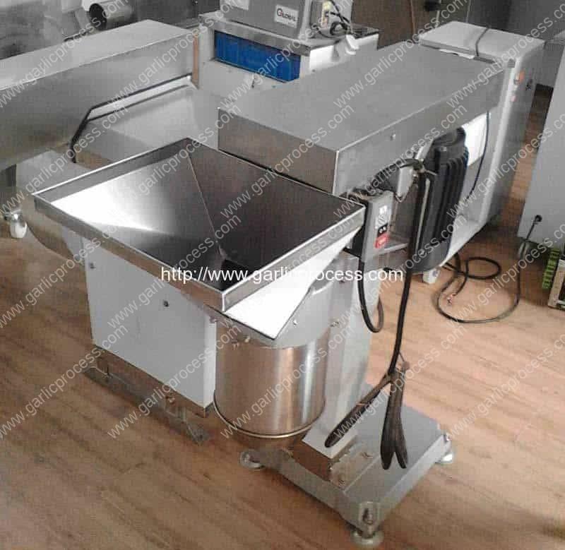 garlic cutting machine