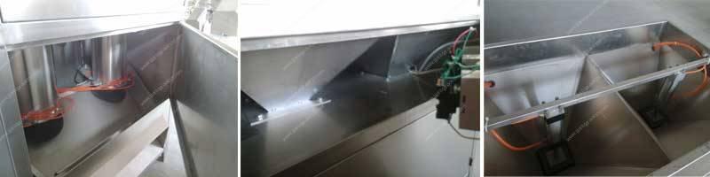 Automatic Garlic Peeling Machine for Egypt Customer