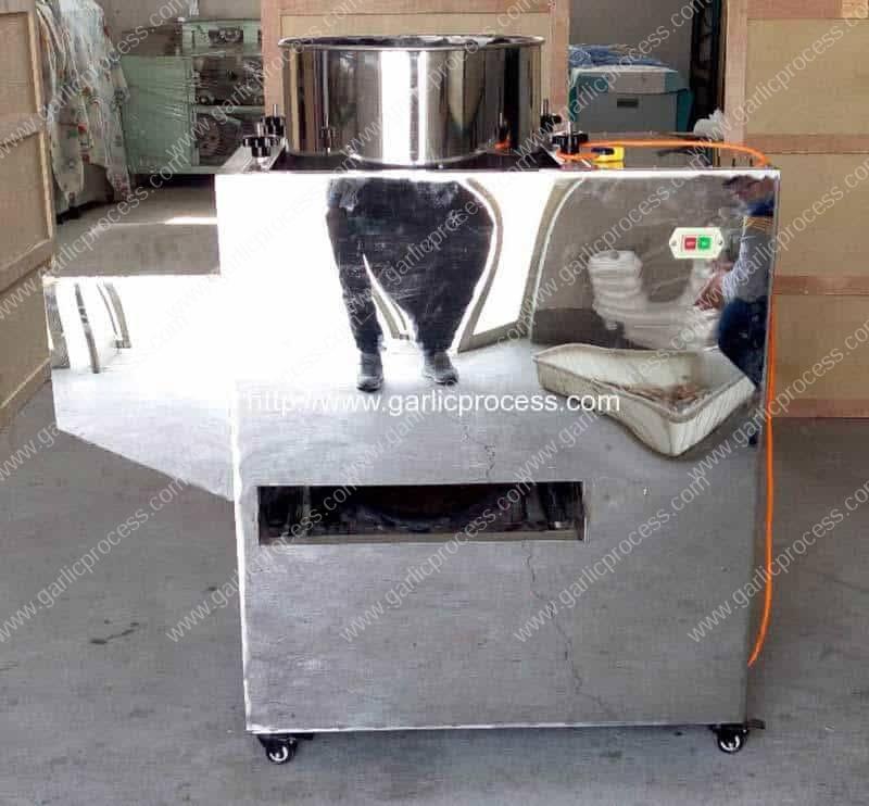 Horizontal Structure Garlic Clove Separating Machine for Sale