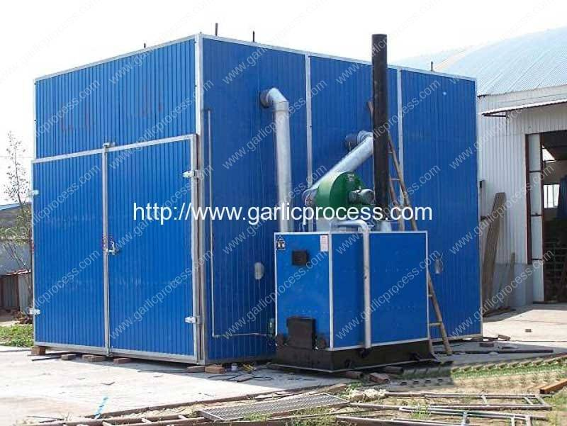 Automatic-Garlic-Dryer-House-with-Coal&Wood-Fired-Hot-Air-Generator