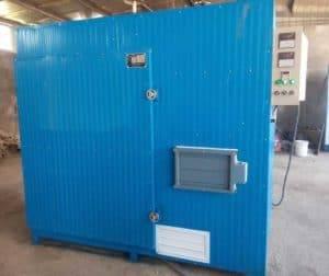 Wood&Coal Fuel Heating Garlic Dryer Oven