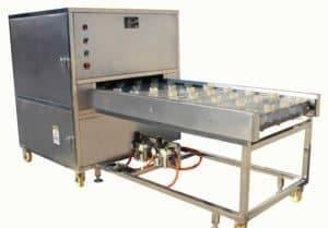 Máquina automática de corte de raiz côncava de alho