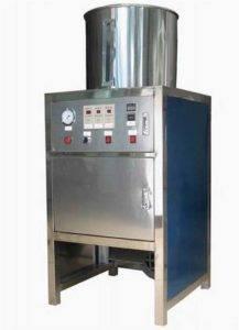 Pneumatic Type máquina de descascar do alho do aço inoxidável