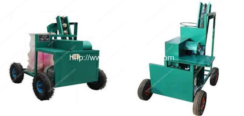 automatic-discharging-garlic-root-and-leaf-cutting-machine