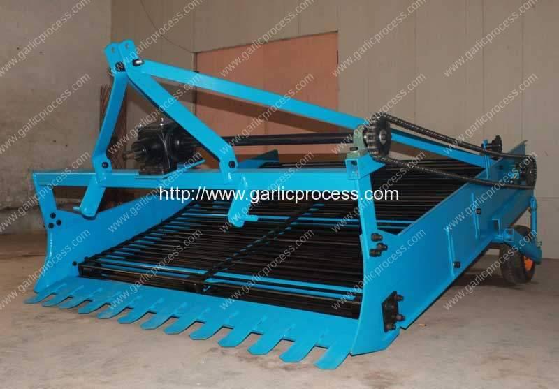 Máquina de colheita de alho