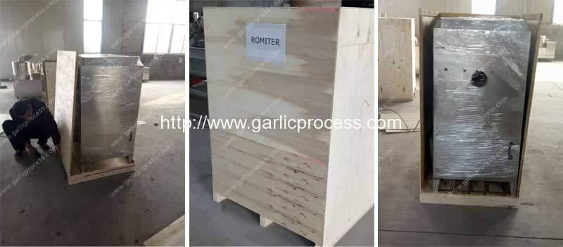 garlic-peeling-machine-plywood-package
