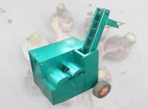 Fresco de alho raiz e folha de corte da máquina para venda