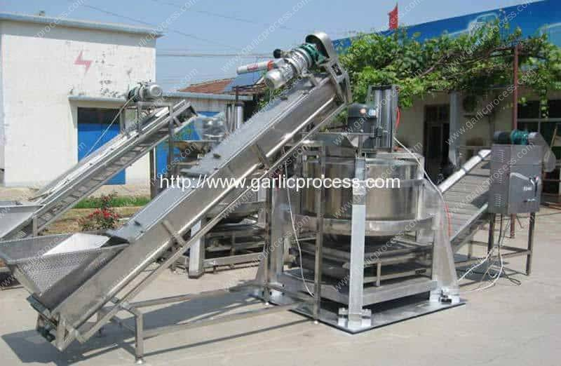 Automatic-Centrifugal-Type-Sliced-Garlic-Dehydrate-Machine