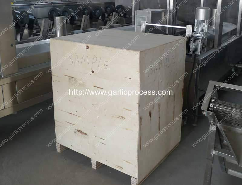 Automatic-Garlic-Clove-Peeling-Machine-Plywood-Package-Delivery