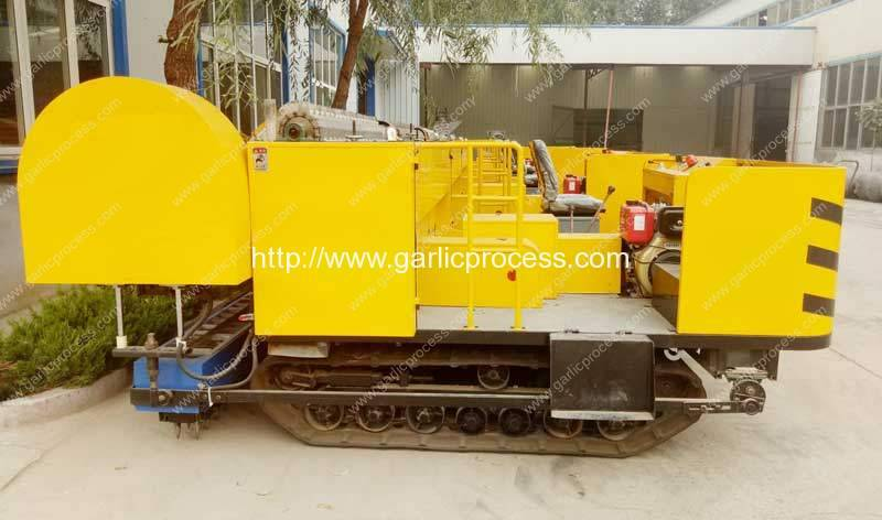 High Speed Garlic Seed Planting Machine