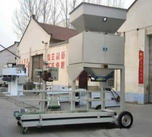 Automatic-Dehydrated-Garlic-Slice-Weigher-Packing-Machine