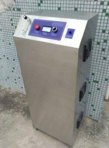 Automatic Ozone Generator for Garlic Clove Sterilization