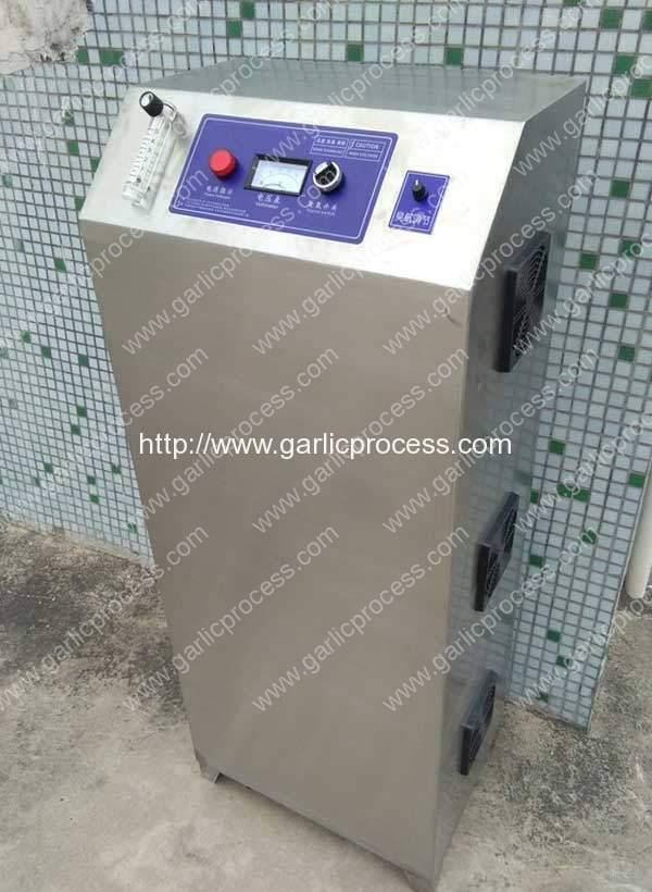 Automatic Ozone Generator for Garlic Clove Sterilization