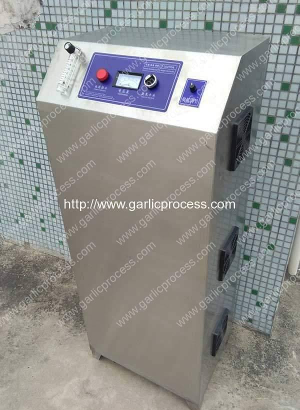 Gerador Automático de Ozônio para Esterilização de Agarro de Alho