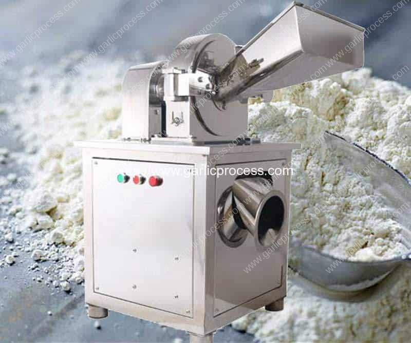 Water Cooling Type Stainless Steel Garlic Powder Grinder Machine