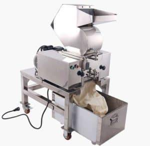 Automatic Dehydrated Garlic Granule Crushing Machine