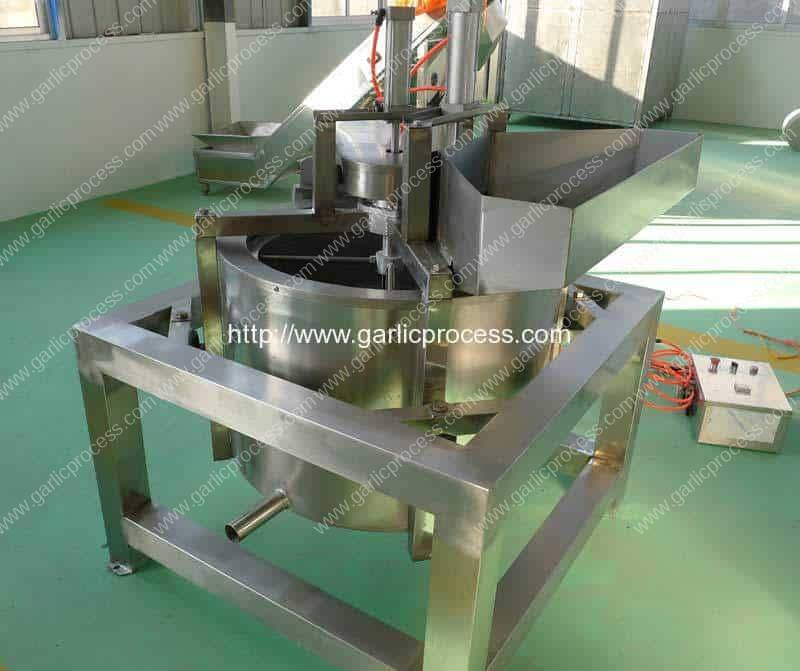 Continuous Working Garlic Slice Centrifugal Water Removing Machine