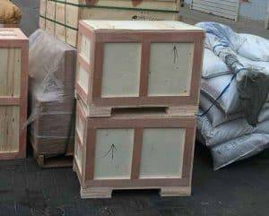 Garlic-Leaf-and-Stem-Cutting-Machine-for-Canada-Customer-with-Plywood-Package