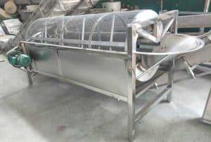 Automatic Garlic Earth Removing Machine for Sale