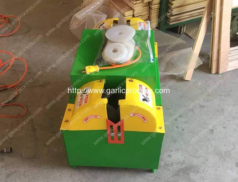 Garlic-Root-and-Leaf-Cutting-Machine-Selling-for-Korea-Customer
