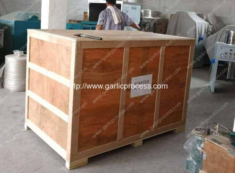 Pneumatic-800kgh-Garlic-Peeling-Machine-Delivery-for-India-Customer