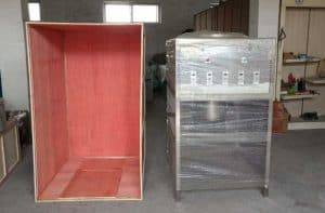 Stainless-Steel-Pneumatic-800kgh-Garlic-Peeling-Machine-Delivery-for-India-Customer