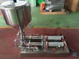 Semi-Automatic-Double-Head-Garlic-Paste-Filling-Machine