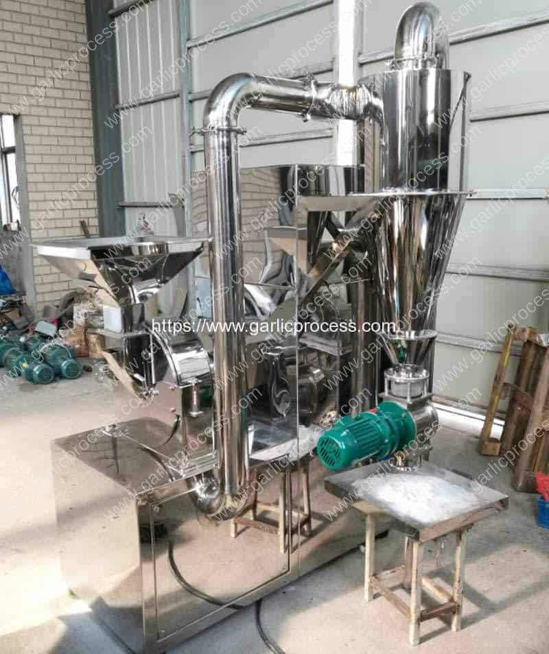 Integrated-Continuous-Automatic-Garlic-Powder-Grinding-Machine