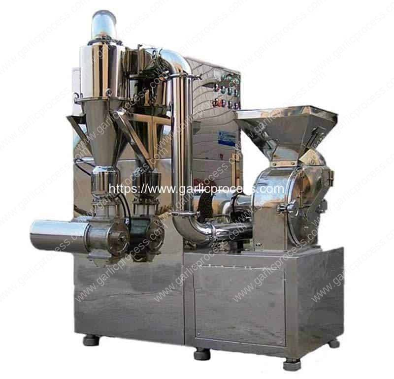 Integrated-Continuous-Garlic-Powder-Grinder-Machine