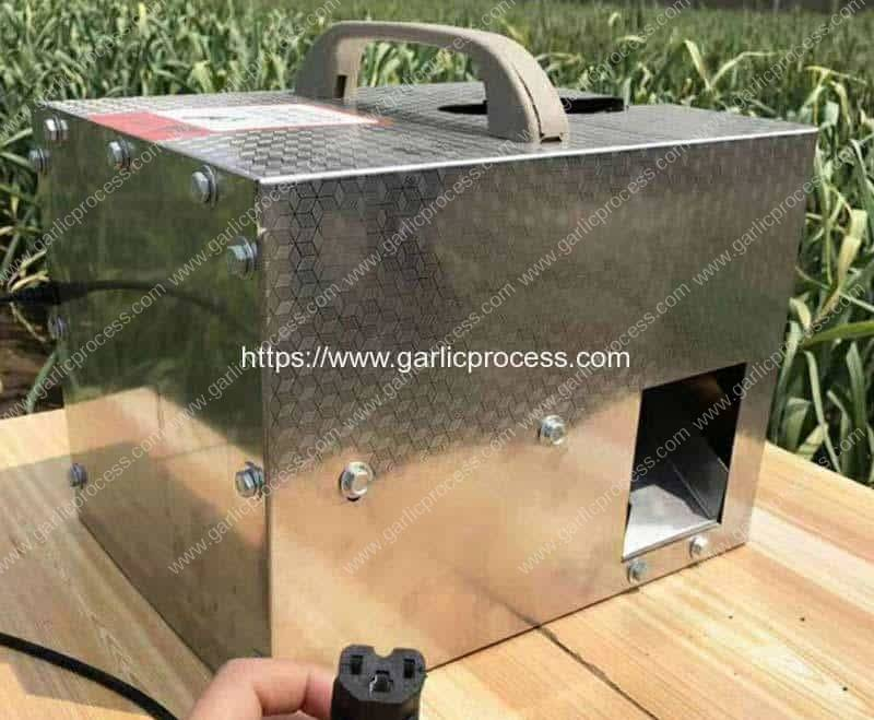 48V-Movable-Small-Garlic-Root-and-Leaf-Cutter-Machine