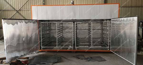Batch-Type-Electric-Type-Garlic-Slice-Dryer-Oven-Internal-Trolley