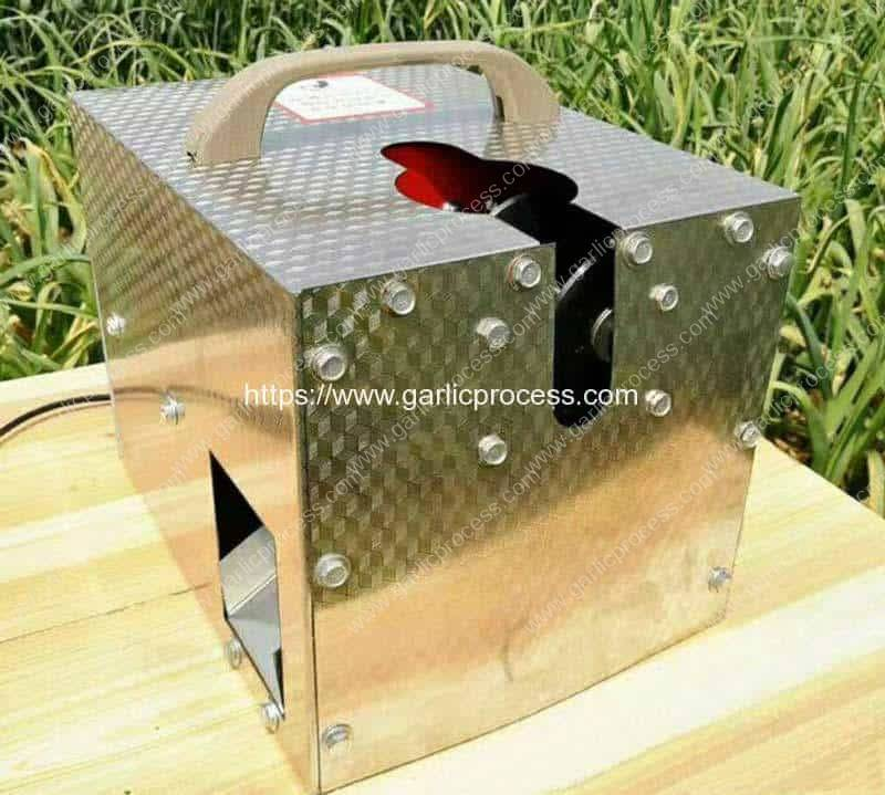 Small-Single-Inlet-Garlic-Root-Leaf-Cutter-Machine