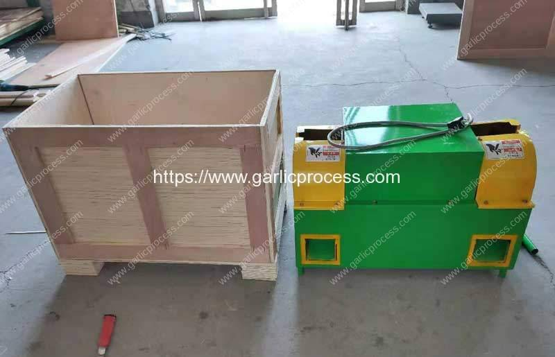 Garlic-Root-and-Leaf-Cutter-Machine-with-Customized-Plug-and-Voltage-for-USA-Customer