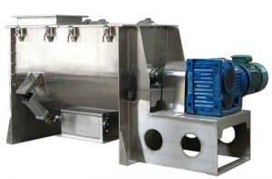 Automatic Garlic Powder Ribbon Blending Machine
