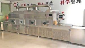 Automatic Tunnel Type Garlic Powder Microwave Sterilizer