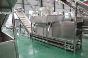 Full-Automatic-Wet-Type-Dehydrated-Garlic-Slice-Production-Line