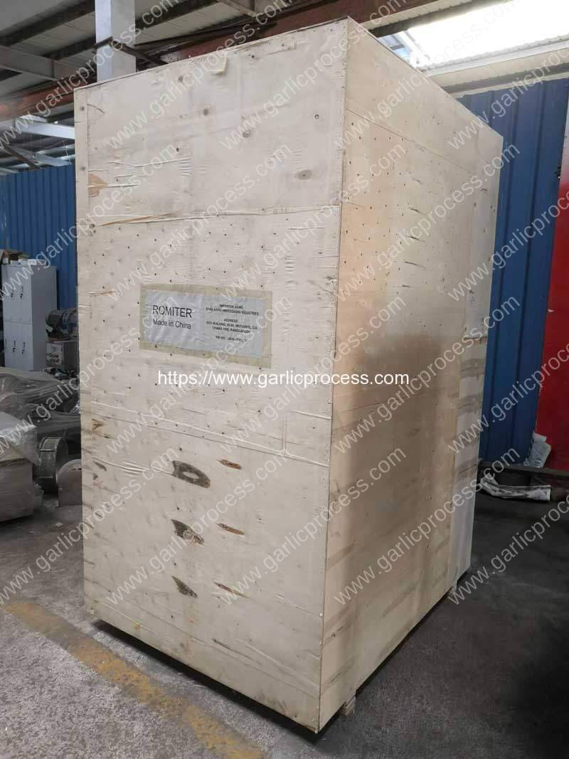 Dehydrated-Garlic-Slice-Powder-Grinder-Delivery-Package-for-Bangladesh-Customer