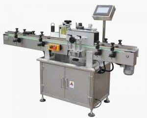 Automatic Adhesive Sticker Single Side Labeling Machine