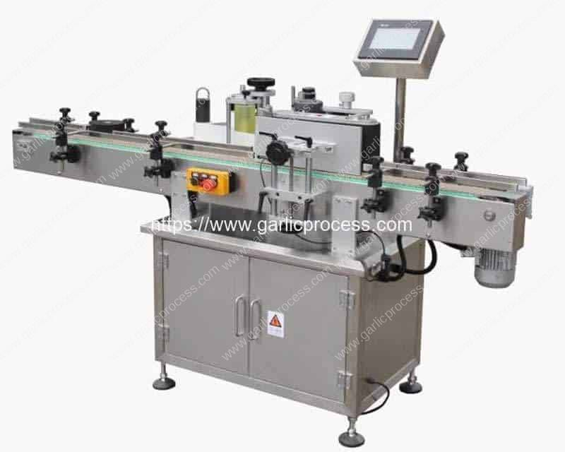 Automatic-Adhesive-Sticker-PET-Jar-Single-Side-Labeling-Machine