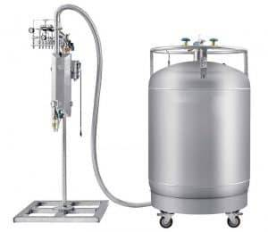 Automatic Bottle Liquid Nitrogen Injection Machine