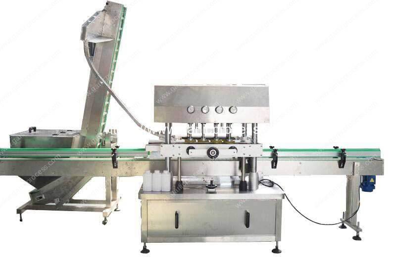 Automatic-Cap-Arranging-Ordering-Machine