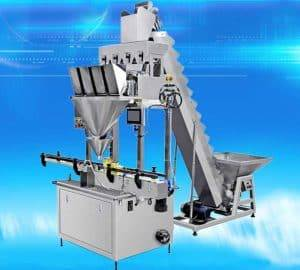 Automatic Garlic Clove PET Jar Filling Packing Machine