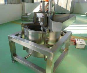 Centrifugal Type  Fry Garlic Crisps De-Oiling Machine