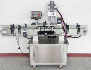 Full Automatic Garlic Clove PET Jar Capping Machine