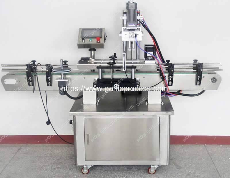 Full-Automatic-Garlic-Clove-PET-Jar-Capping-Machine