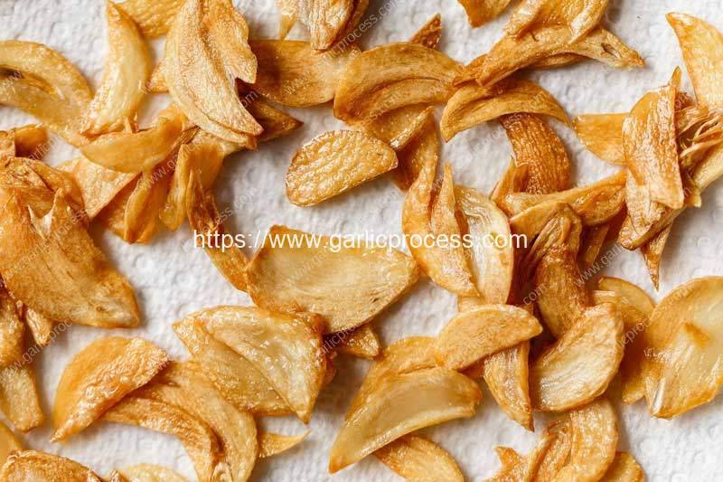 Semi-Automatic-Frying-Garlic-Chip-Production-Line