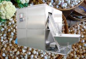 Automatic Mini Size Garlic Breaking Peeling Machine