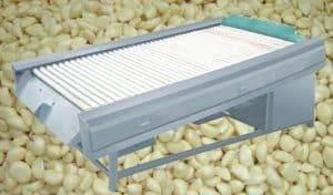 Automatic Garlic Clove Wipe Dry Machine