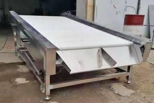 Automatic-Garlic-Clove-Wipe-Drying-Machine
